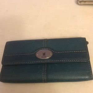 Beautiful  leather Fossil brand wallet